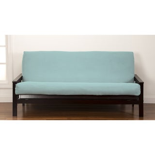 crayola color full size futon cover lifestyle covers teal full size futon cover   free shipping today      rh   overstock