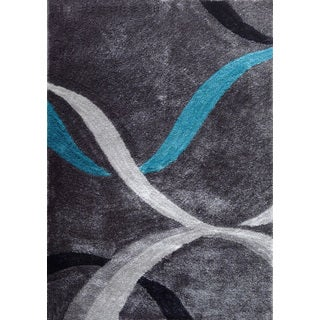 Hand-tufted Polyester Shag Area Rug