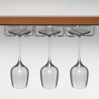 Under Cabinet 3-row Stemware Rack