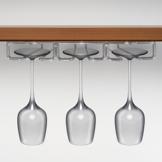 Under Cabinet Stemware Rack 3 Rows