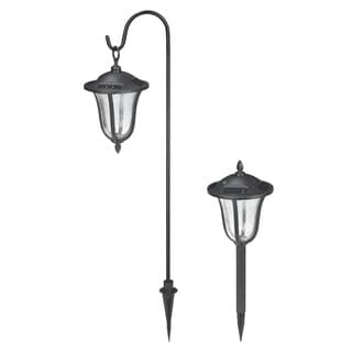2-Count Aged Bronze LED Path Lights