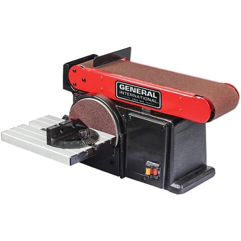 General International 2-in-1 Belt and Disc Sander