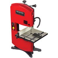 General International 9-inch Band Saw with Multi-directional Led Lighting