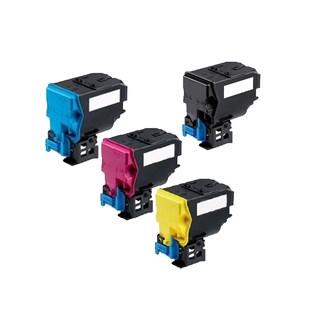 1 Set Compatible A0X5132 A0X5432 A0X5332 A0X5232 Toner Cartridge For QMS Bizhub C35 C35P ( Pack of 4 )
