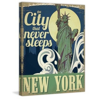 Marmont Hill - The City that Never Sleeps Painting Print on Canvas