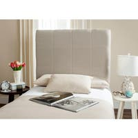 Safavieh Quincy Smoke Box Quilted Upholstered Headboard (Twin)