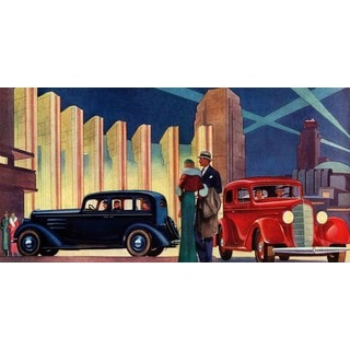 Marmont Hill - The Big Night Painting Print on Canvas