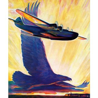 Marmont Hill - Eagle's Wings Painting Print on Canvas