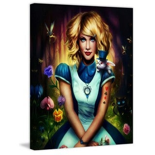 Marmont Hill - Alice in Wonderland Painting Print on Canvas