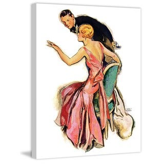 Marmont Hill - Engaged Couple by John LaGatta Painting Print on Canvas
