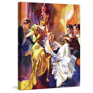 Marmont Hill - The Battle of the Blondes by John LaGatta Painting Print on Canvas