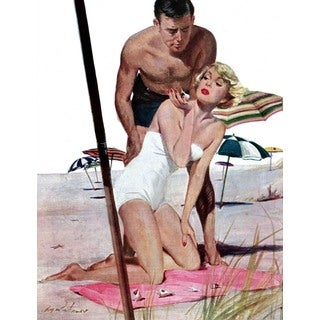 Marmont Hill - Holiday of a Star by Coby Whitmore Painting Print on Canvas