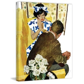 Marmont Hill - Playboy's Choice by Joseph Bowler Painting Print on Canvas