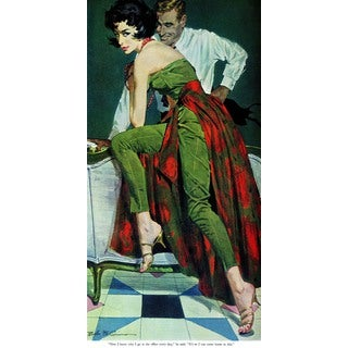 Marmont Hill - The Other Wife by Robert McGinnis Painting Print on Canvas