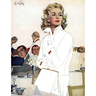 Marmont Hill - Too Young for Trouble by Coby Whitmore Painting Print on Canvas