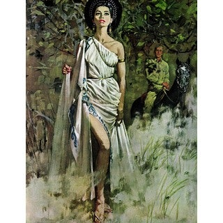Marmont Hill - Moresby's Goddess by Robert McGinnis Painting Print on Canvas