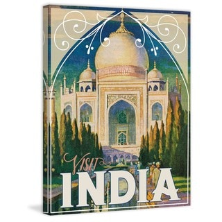 Marmont Hill - Visit India Painting Print on Canvas