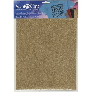 Brother ScanNCut Die Cut Machine Iron-On Transfer Glitter Sheets (4 Assorted)