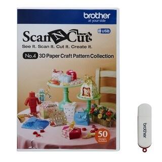 Brother ScanNCut Die Cut Machine 3D Paper Craft USB
