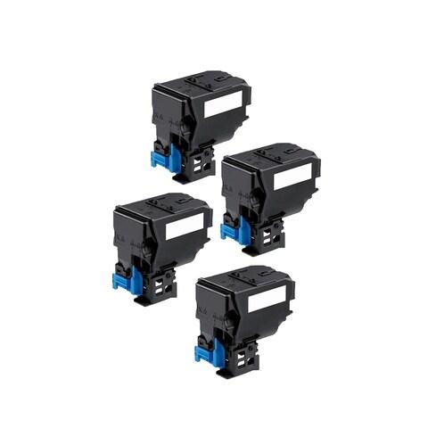 4PK Compatible A0X5132 TNP22K Toner Cartridge For QMS Bizhub C35 C35P ( Pack of 4 )