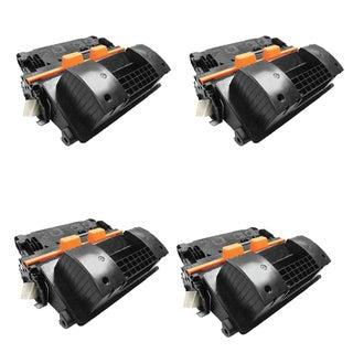 4PK Compatible CF281X 81X Toner Cartridge For HP LaserJet Enterprise Flow MFP M630z ( Pack of 4)