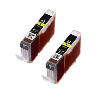 2PK CLI-42Y Compatible Ink Cartridge For Canon PIXMA Pro 100 ( Pack of 2 )