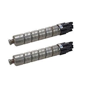 2PK Compatible 888308 Type 145 Toner Cartridges For Ricoh Aficio CL4000 CL4000DV CL4000DN SPC410DN SPC411DN ( Pack of 2 )