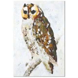 Hoo Are You? Hand Painted Art