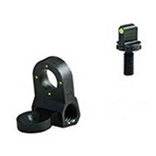 Meprolight AR-15/ Clone Tru-Dot Nght Sght Set (4 Dot Peep Rear)