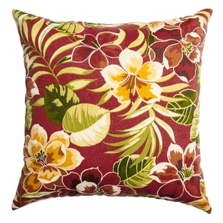 Sunline Belmar Indoor/ Outdoor Down and Feather 20-inch Decorative Throw Pillow (Set of 2)