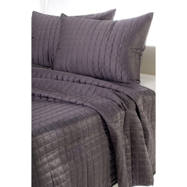 Rizzy Home Satinology 3-piece Quilt Set
