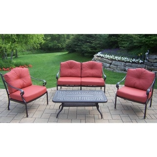 Cushioned Aluminum 4-piece Set