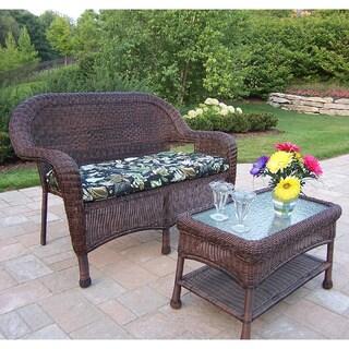 Premium Cushioned Resin Wicker 2-piece Set