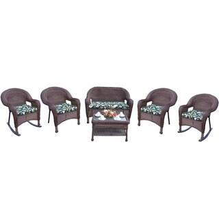 Premium Resin Wicker 6-piece Seating Set