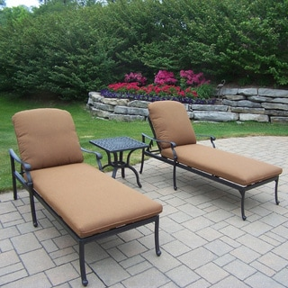 Premium Aluminum 3-piece. Chaise Lounge Set
