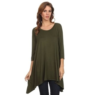 Women's Solid Knit Tunic