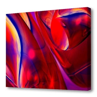 Menaul Fine Art's 'Red Swirls' by Scott J. Menaul