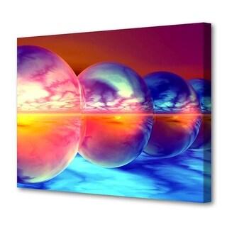Menaul Fine Art's 'Sunset Spheres' by Scott J. Menaul