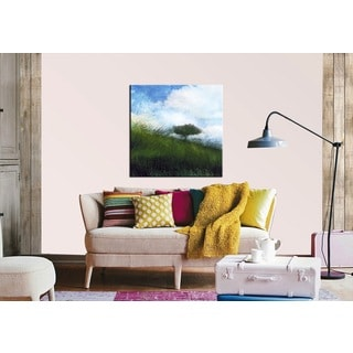Benjamin Parker 'Days End' 48-inch Giclee Canvas Wall Art