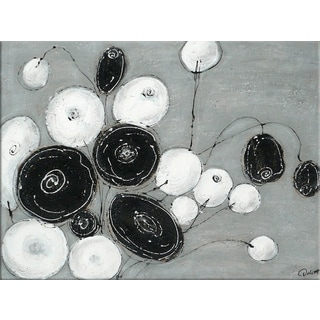 Benjamin Parker 'Bouquet I' 30 x 40-inch Hand-painted Wall Art