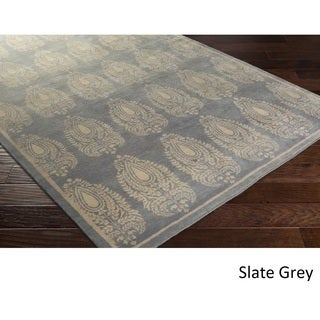 Hand Knotted Airport Wool Rug (8' x 10')