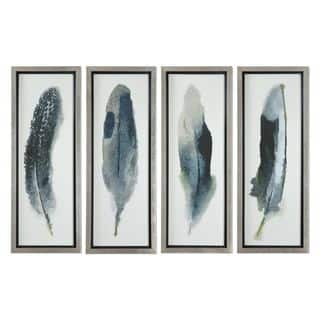 Feathered Beauty Prints (Set of 4) https://ak1.ostkcdn.com/images/products/11088803/P18095899.jpg?impolicy=medium