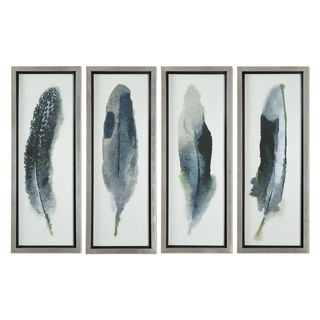 Feathered Beauty Prints (Set of 4)
