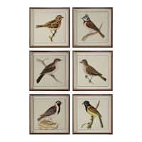 Spring Soldiers Bird Prints (Set of 6)