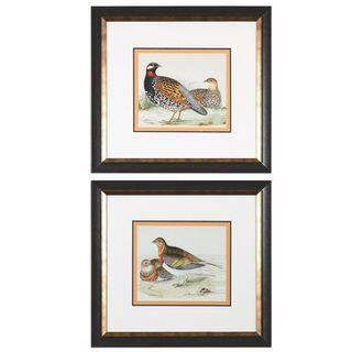 Pair Of Quail Framed Prints (Set of 2) https://ak1.ostkcdn.com/images/products/11088812/P18095907.jpg?impolicy=medium
