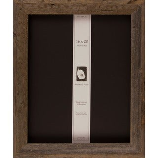 Barnwood Shadow Box (16 x 20)