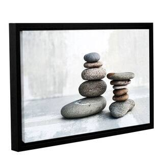 ArtWall Elena Ray 'Sea Stones' Gallery-wrapped Floater-framed Canvas - Multi