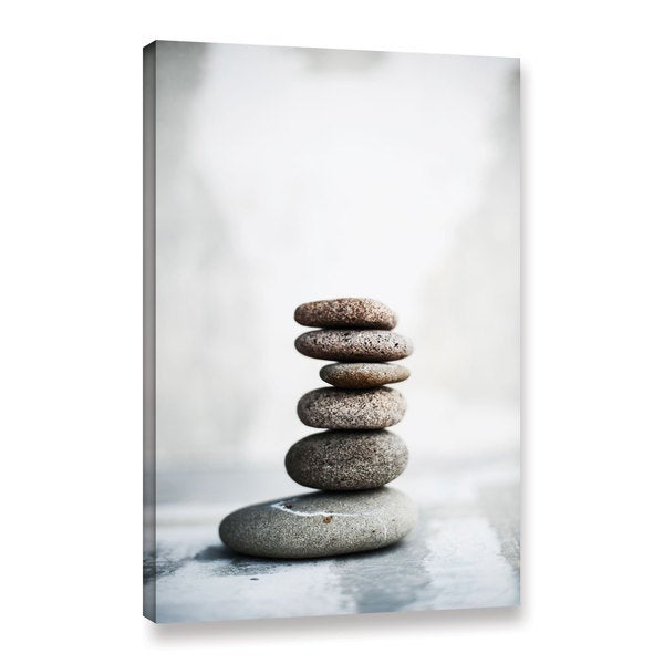 ArtWall Elena Ray 'Sea Stones 2' Gallery-wrapped Canvas - multi