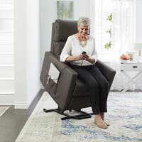 Oliver & James Bul Taupe Power Lift Recliner