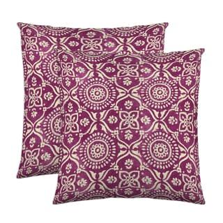 Adara 18-inch Throw Pillow (Set of 2)